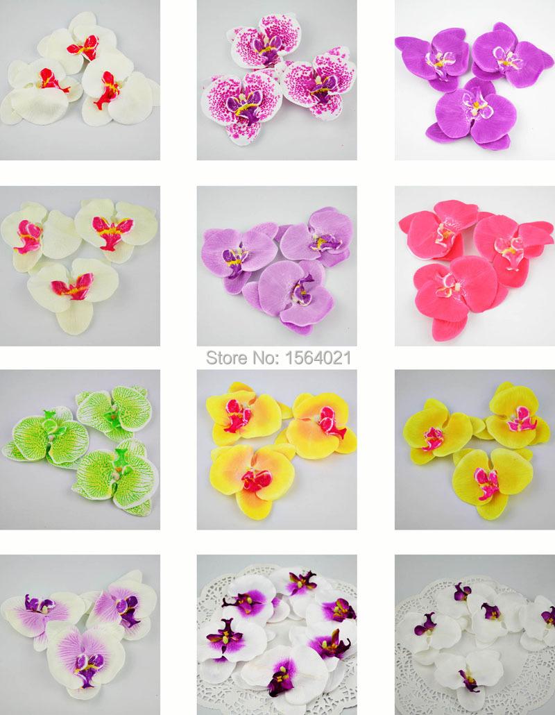 Искусственные цветы для дома Phalaenopsis 50pcs/lot искусственные цветы для дома other 10pcs lot es1802