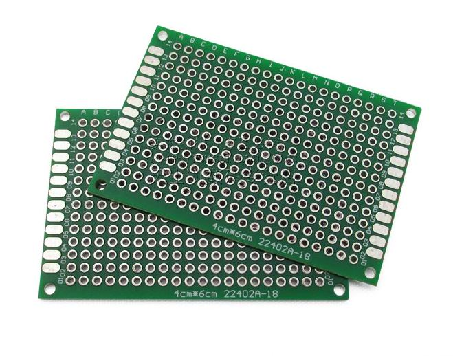 5PCS Double Side Prototype PCB Bread board Tinned Universal 4x6 cm 40x60 mm SG048-SZ(China (Mainland))