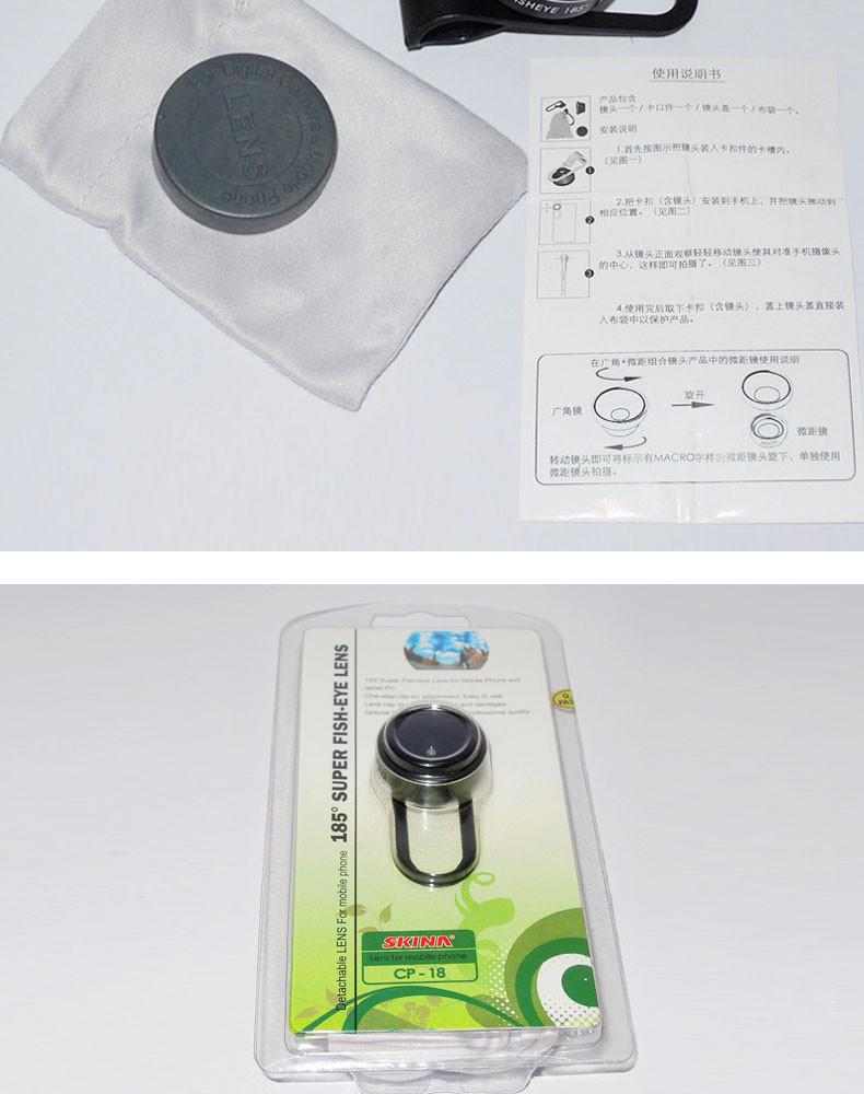 Fish eye lens 3 in 1 universal mobile phone camera wide+macro+fisheye lenses for iphone samsung universal cell phone lenovo LG