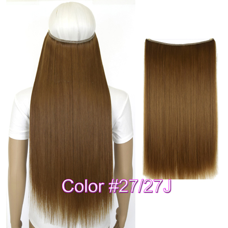 """Верхние термостойкие B5 синтетические волосы 20 """"50 см 50 г эластичность невидимая 27-27J"""