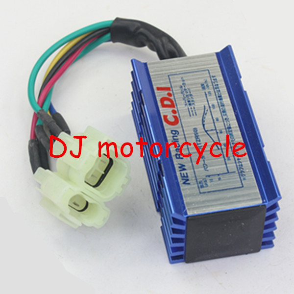 High Performance 6 Pin GY6 Ignition Racing CDI Box For Moped Scooter Dirt Pit Bike ATV Lifan Yx Yingxiang ZS150 Engine(China (Mainland))
