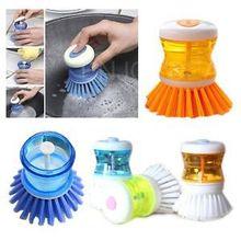 2 pz nuovo strumento di lavaggio palm brush scrubber cleaner la memorizzazione di detersivo liquido h3(China (Mainland))