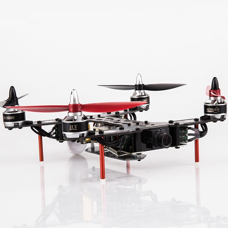 INDY250 FPV Racing Quadcopter PNF Kit FOV160 Version with Camera LT200 Transmitter <br>