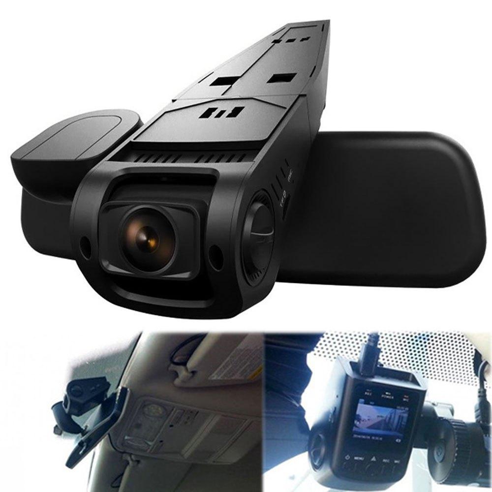 2016 car dvr dash cam video recorder 170 degree wide angle lens hidden 1080p full hd high. Black Bedroom Furniture Sets. Home Design Ideas