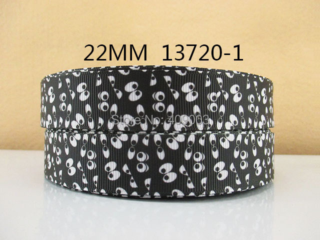"""50Y13720 freeshipping 7/8"""" picture pattern polyester printed Grosgrain ribbon diy headwear gift  sewing supplies(China (Mainland))"""