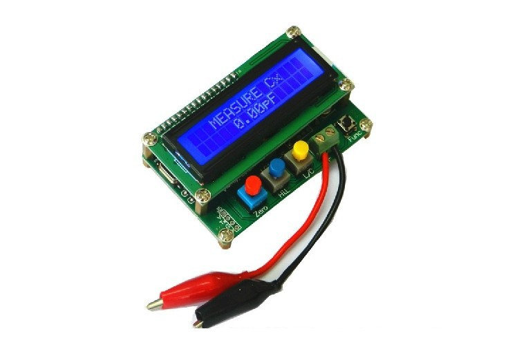 Freeshipping LC100-A Digital LCD High Precision Inductance Capacitance L/C Meter capacitor(China (Mainland))
