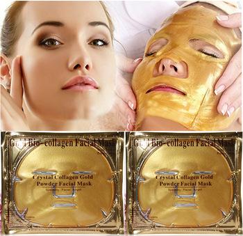 Gold Bio-Collagen Facial Mask Face Mask Crystal  Collagen Gold Powder Facial Mask Moisturizing Anti-aging  60g<br><br>Aliexpress