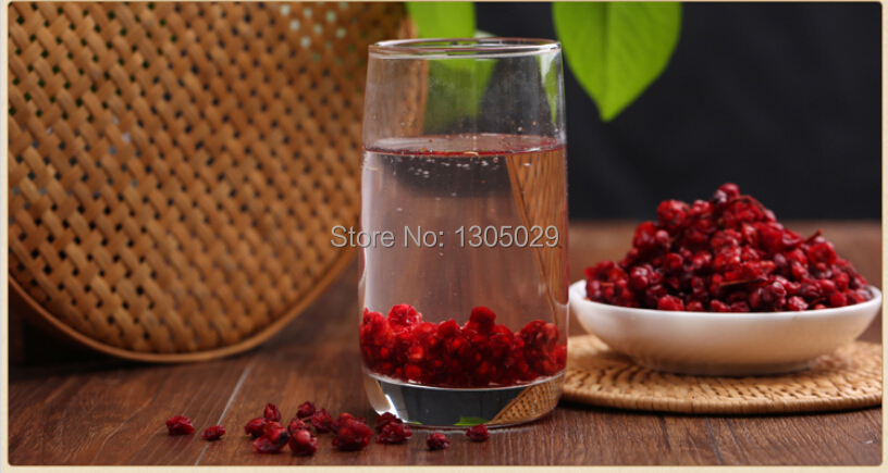 500g Wild Dried Schisandra Chinensis Wu Wei Zi Herbal Tea