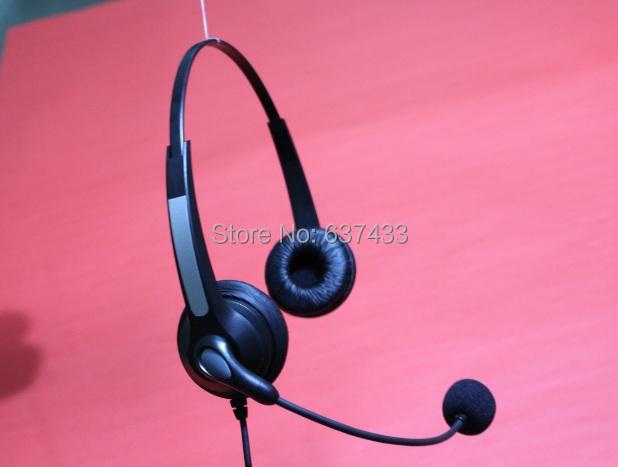 H902N Binaural NC Headset w/ 2.5mm Sub-Mini Jack for Polycom 320 321 330 331 IP(China (Mainland))