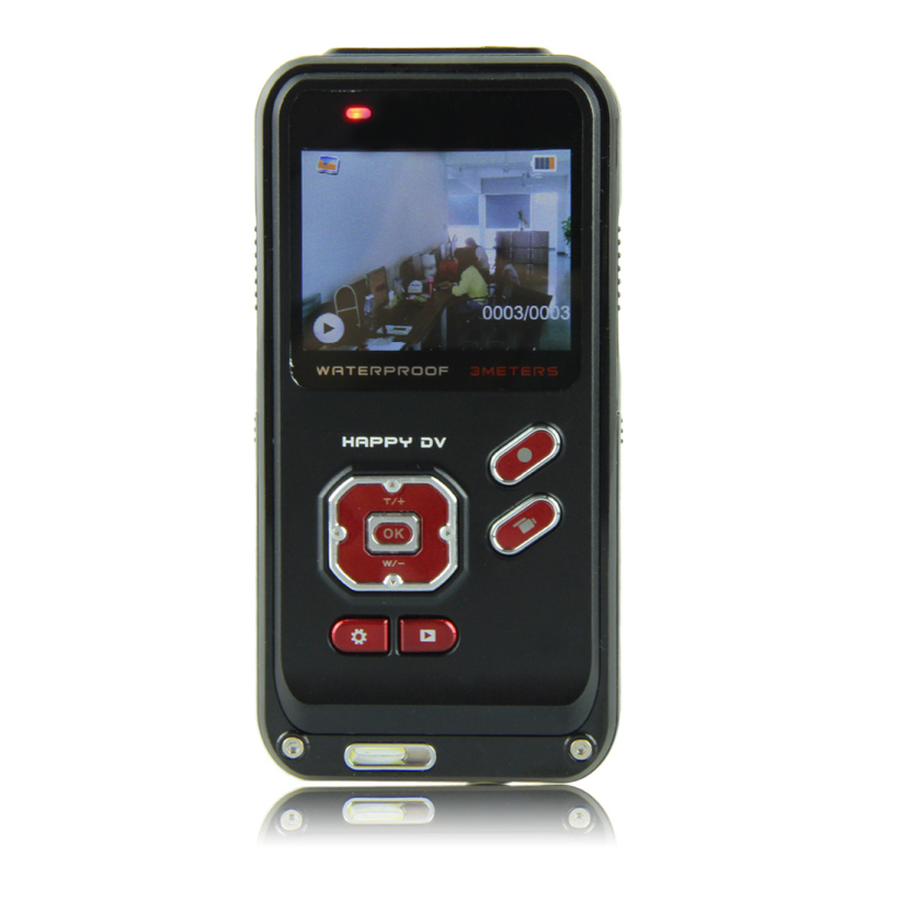 Fantastic C1 New Arrival 2 0 inch TFT LCD Shockproof Waterproof Digital Camera 16M MegaPixel 4x