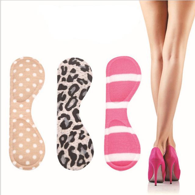 Маленькие глаза стиль пятки сообщение анти-истиранию ног женщины туфли на высоком ...