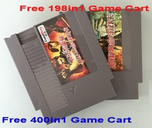 Free 400 in 1 & 198 in 1 Game Carts, NES 72 Pins Game Cartridge Replacement Plastic Shell