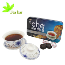 puer tea Top Grade Lose Weight Chinese Health food Chinese Yunan Organic pu er tea Mini Square Box Compressed ripe tea PT003