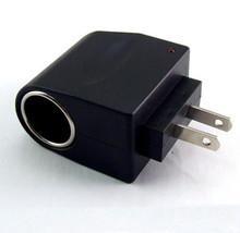 110 В — 240 В переменный ток / DC переменный ток до 12 V постоянный ток адаптер преобразователь черный сша