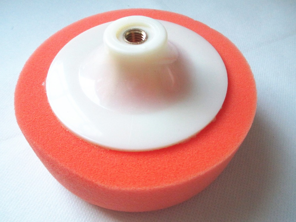 "5"" Diameter Polishing Sponge Mop Buffing Pad Wheel Thread Car Machine Polisher(China (Mainland))"