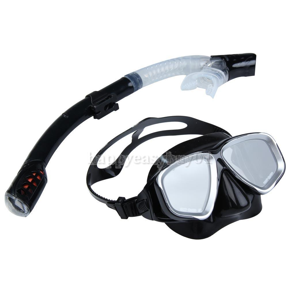 2IN1 Swimming Diving Protective Goggle Breathing Tube Snorkeling Mask Set  H1E1<br><br>Aliexpress