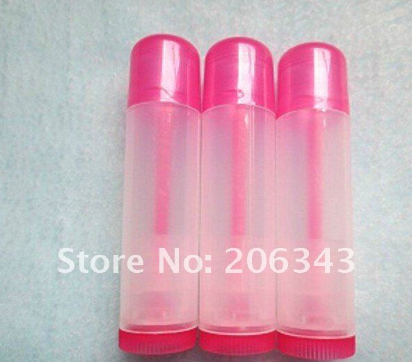 : 5g lip gloss/color cream tube balm stick  -  all packing you want  store