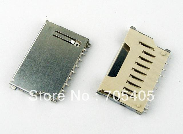 SD card socket, short card type,Iron shell,Without bomb-ordinary general-purpose models