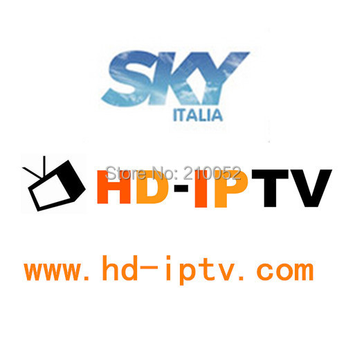 Subscription no box, SKY Italia IPTV service Apk with 1Month service, support androd tv mag250,mag254, satellite receiver and PC(China (Mainland))