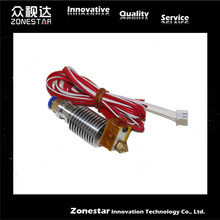 E3D-V6 3d printer Bowden wade Extruder nozzle E3D V6 J-head Hotend with Cooling Fan for 1.75mm/3.0mm filament 0.2/0.3/0.4/0.5mm