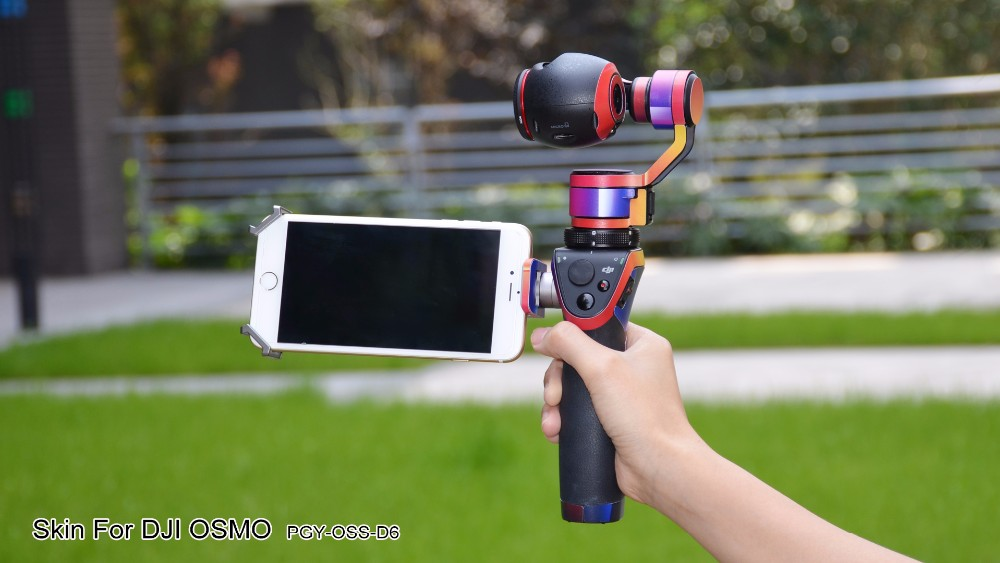 PGY DJI Osmo x3 5 accessories Stickers PVC Skin Decal shell 4K Camera with 3-Axis Gimbal Handheld part Aerial Photography