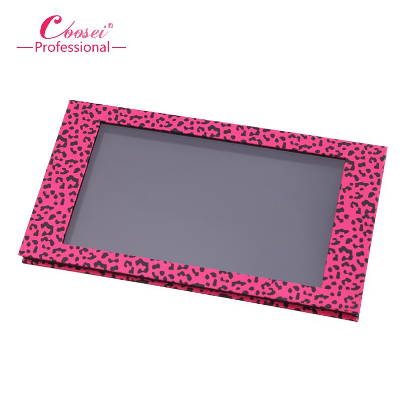 Empty Magnetic Eyeshadow Paltte,Big Pink Leopard Contour Makeup Set,Professional DIY Makeup Storage Box ,Free Shipping! <br><br>Aliexpress