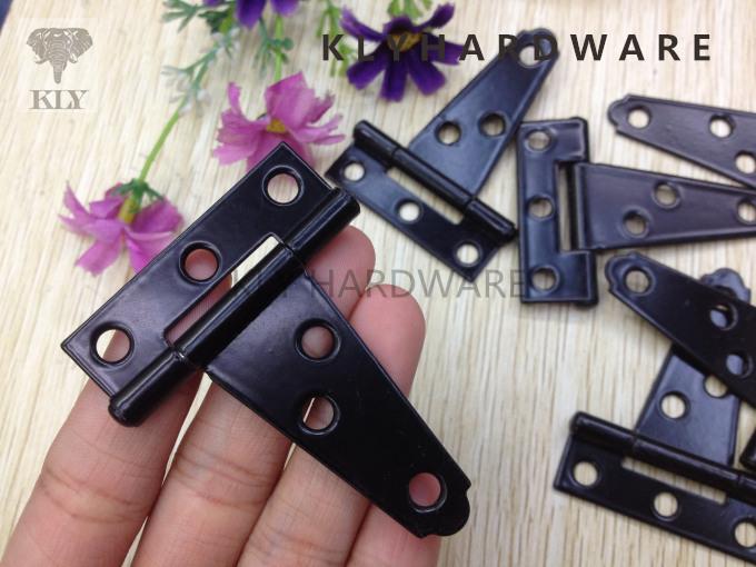 2inch Tee hinge, strap hinges,iron hinge, black hinges-30pcs free shipping(China (Mainland))