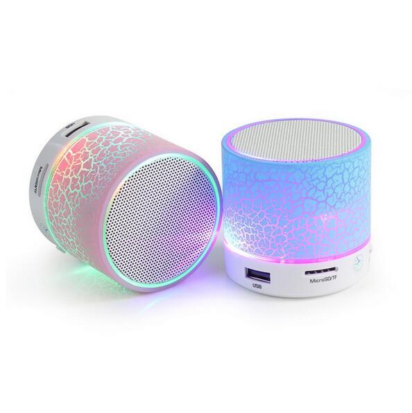 2016 LED Mini Bluetooth Speaker Portable Wireless soundbar Speakers Music Sound Box Subwoofer Support TF Card IPhone(China (Mainland))