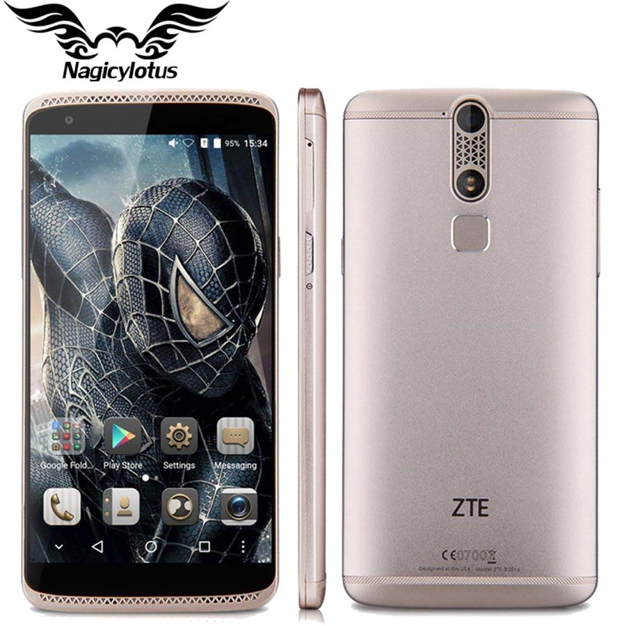 Original ZTE Axon Mini 3G RAM 32G ROM Mobile Phone 5.2 Inch Android 5.1 MSM8939 1.5GHz Octa Core FHD 1920x1080 13MP Phone(China (Mainland))