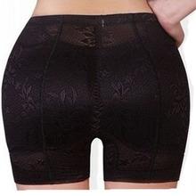 Black padde hip panty lace Bottoms Up underwear bottom hip pad panty sexy lingerie buttock up panty Women Padded Panty for women