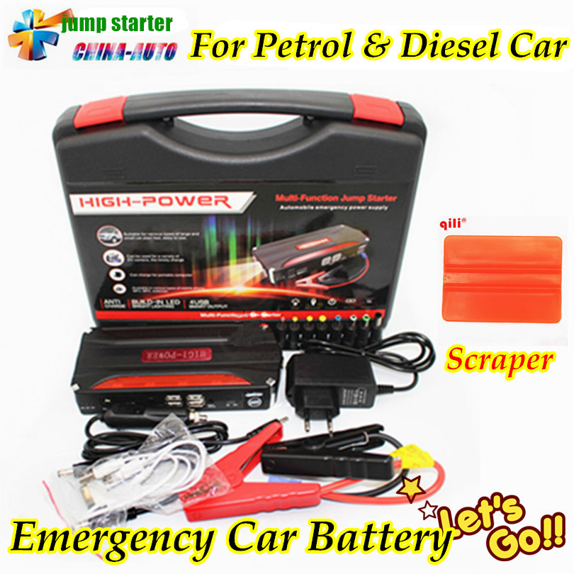 2017 New Arrival High Capacity Car Jump Starter Mini Portable Emergency Battery Charger for Petrol & Diesel Car