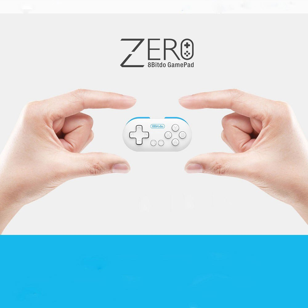 8Bitdo Zero wireless Controller Bluetooth V2.1 game Gamepad for PC Android iOS Window Mac OS system phone with Remote Shutter