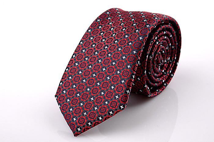 2016 High Quality Dot & Floral Neck Tie 6cm Slim Polyester Silk Neckties Wedding Business Suits Ties for Men Gravatas Corbatas