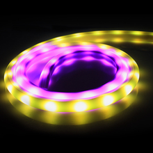 Buy 1m 12V Led Neon strip waterproof IP67 + Flexible light WS2811 IR Remote controller + 1A power adapter home decoration for $17.10 in AliExpress store