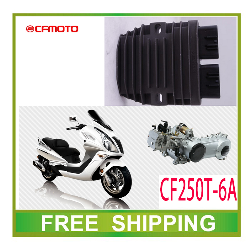 Rectifier voltage regulator 250cc font b GY6 b font scooter CFMOTO CF250T 6A accessories free shipping