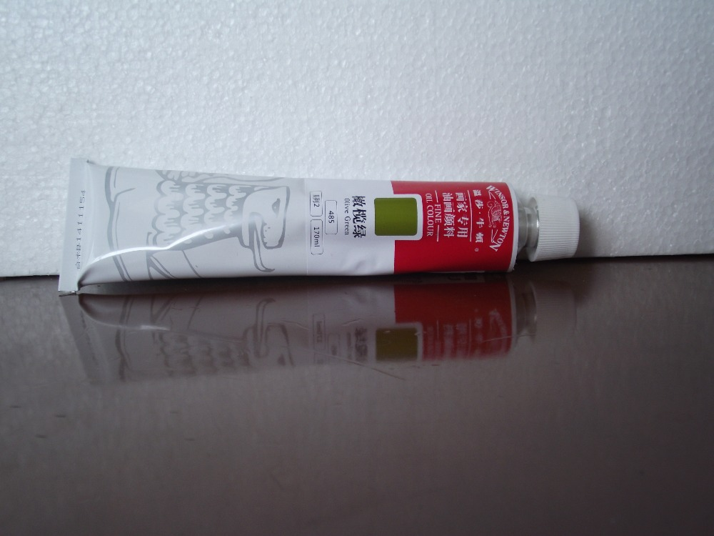 Safety Green Paint Olive Green 170 ml Oil Paints
