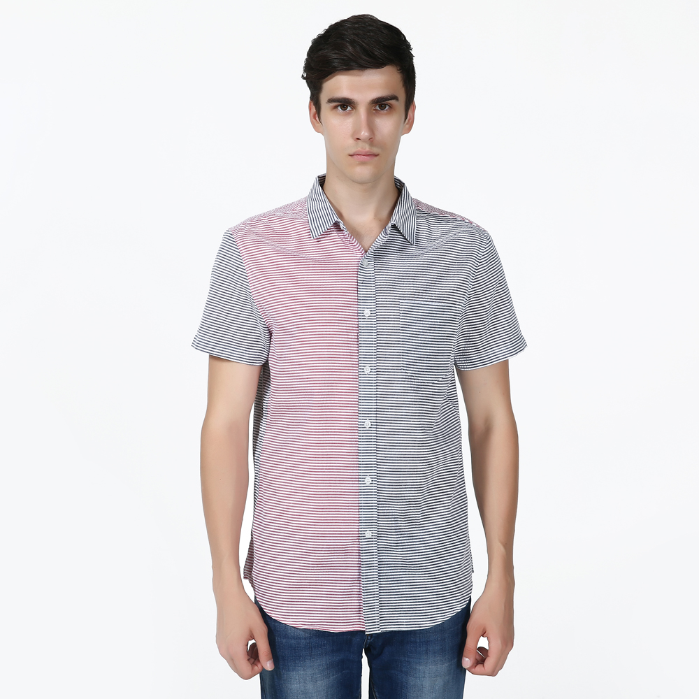 Compare Prices on Patchwork Silm Fit Shirts- Online Shopping/Buy ...