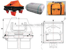 Luxury yachts special inflatable liferaft YT-4 \ 6 \ 8 \ 10 \ 12 ( portable disembarkation loss prevention )(China (Mainland))