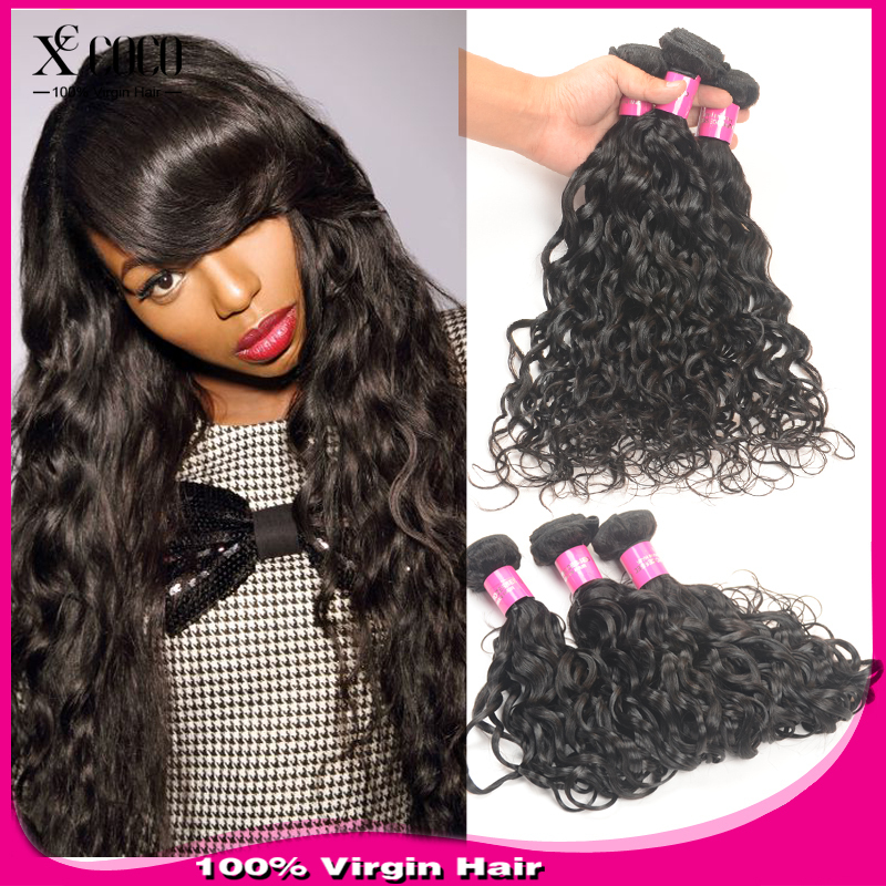 3Bundles Malaysian Natural Wave 100g/Pc Unprocessed Malaysian Wet and Wavy Natural Wave King Hair Malaysian Virgin Hair(China (Mainland))