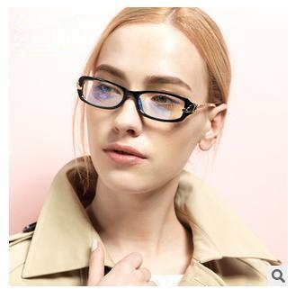 Leopard head metal leg points women eyeglasses frame vintage clear lens glasses oculos de grau femininos eyewear accessories(China (Mainland))