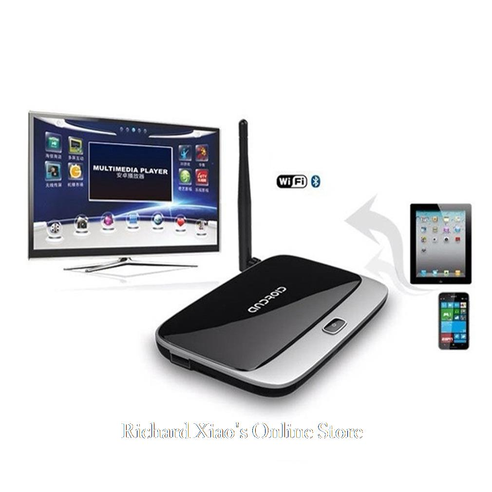 Android TV Box Quad Core Media Player CS918 RK3188 Android 4.2 HDMI WiFi 1080P 2GB 8GB EU Plug