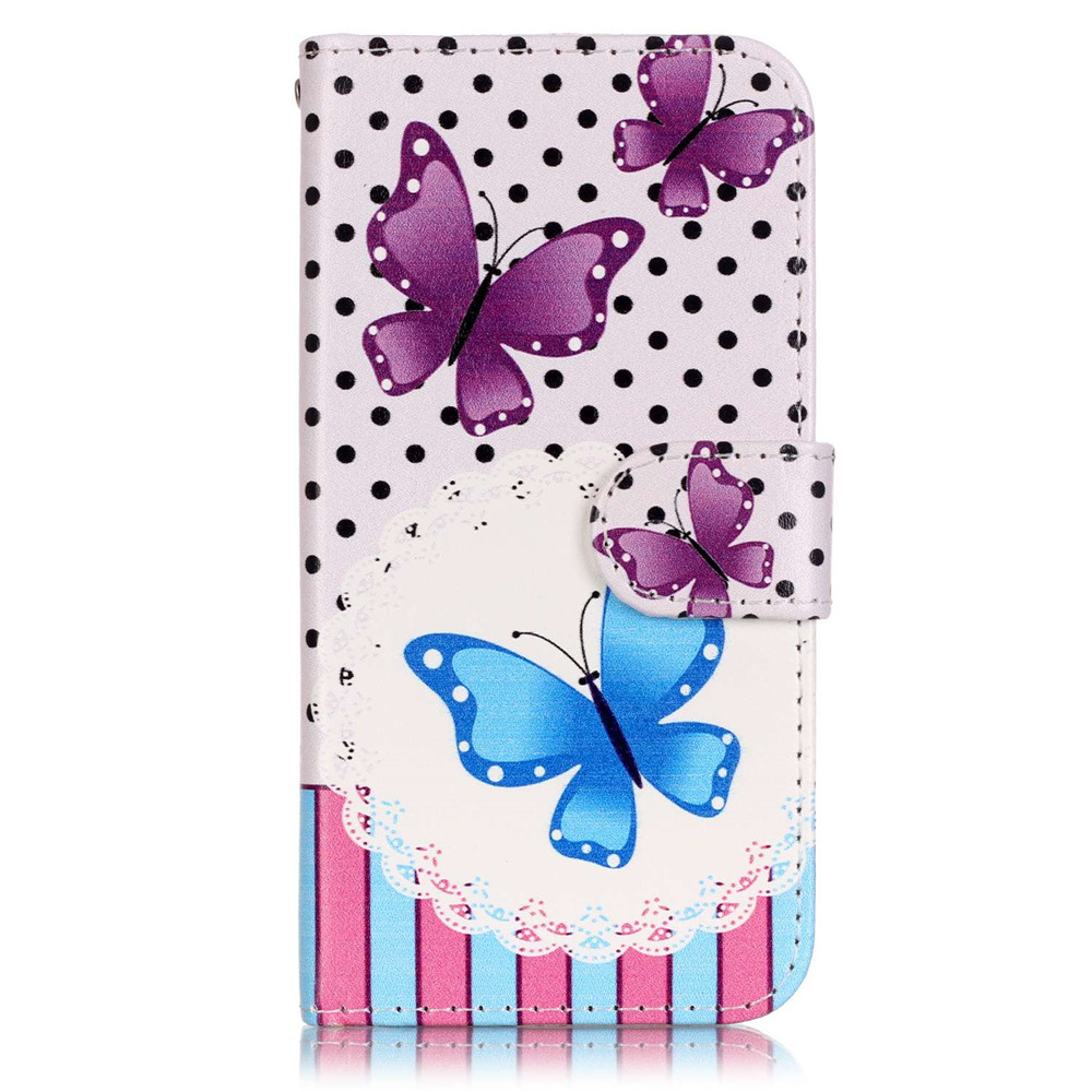 Fashion Owls Flowers Printed PU Leather Wallet Case LG K4 K1130E K120E Book Style Flip Cover Stand Capas