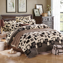 Winter Use Super Warmer Fleece Fabric Flannel Soft Bed Sheet Set Queen/King Size(China (Mainland))