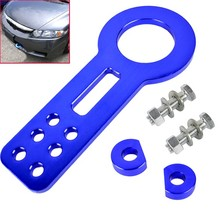 Auto Vehicles Car Front Rear Tow Hook Set Aluminum Racing Towing Tool Kits Blue YD68Q(China (Mainland))