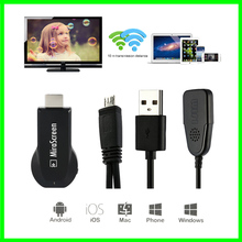 Free shipping ! Chromecast TV Stick OTA Dongle Wi-Fi Display Receiver  Miracast Airmirroring Andriod Windows iOS MiraScreen