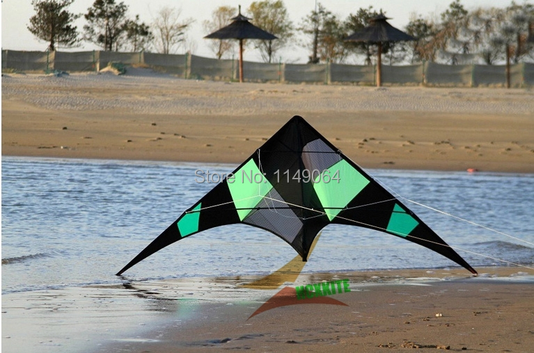 free shipping high quality rattlesnake tumbling stunt kite omnipotence dual line kite with handle line outdoor toys flying wei(China (Mainland))