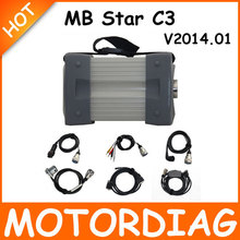 MB Star C3 Multiplexer Mercedes Star Diagnosis C3 Multi-Language Professional Diagnostic Tool with Full Cable Sets For Benz(China (Mainland))
