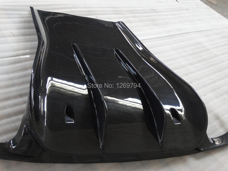 Rear Lip Designed For Carrera 991 S 4S Of The VS Style Carbon Fiber Rear Diffuser