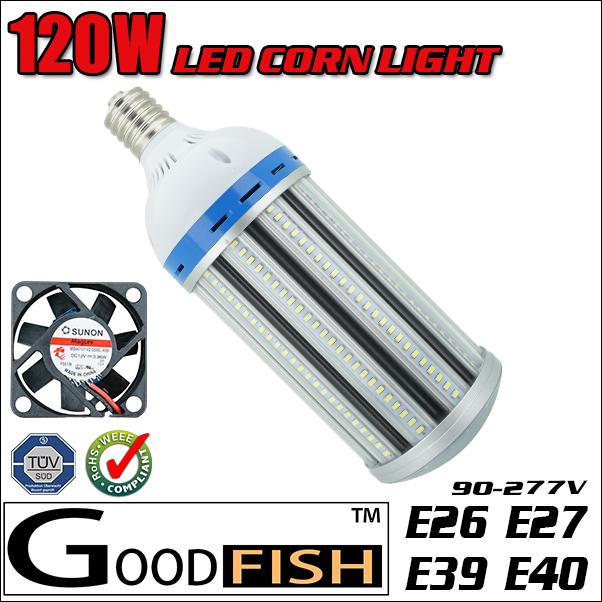 wholesale 120W LED Corn Bulb Light E26 E27 E39 E40 Warehouse lamp 3000K 4000k 4500K 5000K 5500K 6000K 6500K Replace 500w CFL HPS(China (Mainland))
