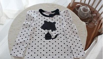 Блузка для девочек New 2015 100% cat 2587